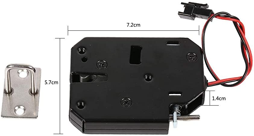 Electric magnetic lock door access control DC 12V cabinet drawer~ii