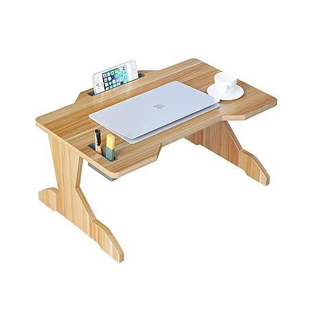 RENJUN - Mesa de Cama para Ordenador portátil, Plegable, Bandeja ...