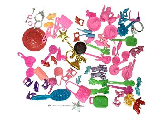 100pcs Different Barbie Accessor...