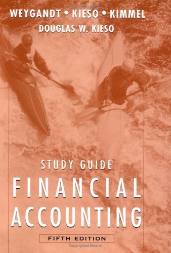 Study Guide to accompany Financial Accounting with Annual Report, 5th Edition