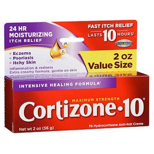 Cortizone-10 Creme Intensive Healing Formula 2 oz (Pack of 6) by Cortizone 10