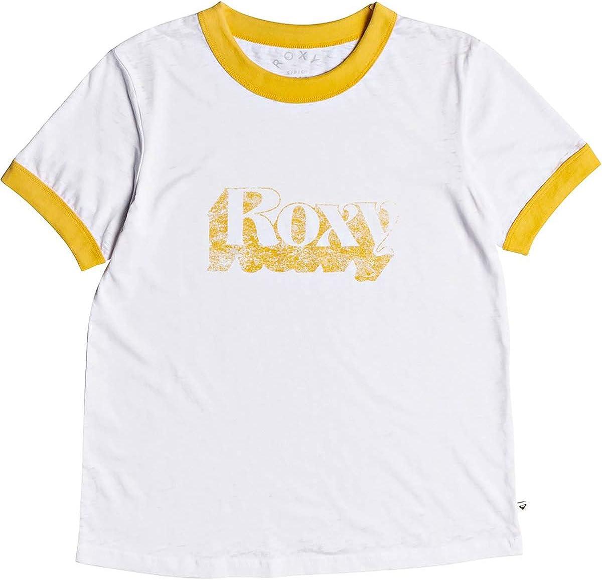 Roxy Women's Sand and Sun Rays Ringer T-Shirt