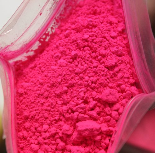 1 Oz Neon Pink Powder for Soap Cosmetics By Dr.Adorable