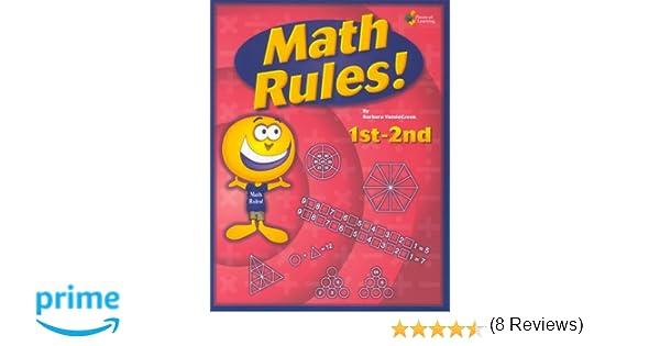 Amazon.com: Math Rules!: 1st-2nd grade 25 week enrichment ...