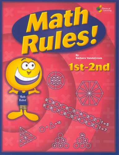 Math Rules!: 1st-2nd grade 25 week enrichment challenge *Now Includes PDF of Book*