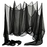 Shappy Halloween Creepy Cloth Large Size 15.9 x 1.75 Yards Cover Gauze for Party Doorways Outdoors Drape Entryways Windows Decoration