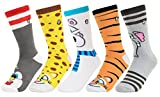 Kid's Silly Socks - Unisex Cotton Socks for Boys