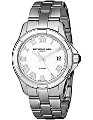 Raymond Weil Mens 2970-ST-00308 Parsifal Analog Display Swiss Automatic Silver Watch