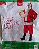 Red Santa Suit, One Size Fits Most