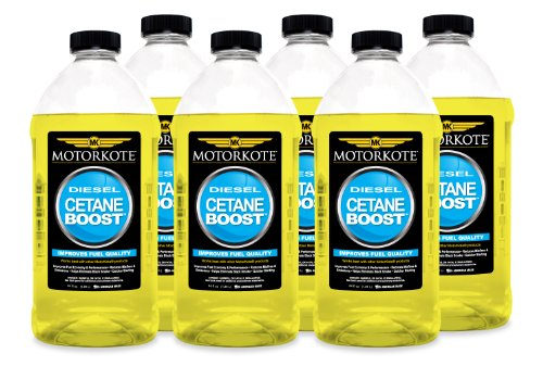 Motorkote (MK-50121-06-6PK) Cetane Boost - 64 oz., (Pack of 6) by Motorkote