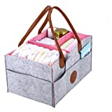 Diaper Caddy Organizer, Portable, Travel Friendly 13x9x7...