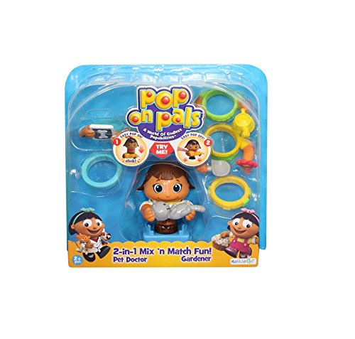 Pop On Pals Pal Pack Pet Doctor/Gardener by Spin Master