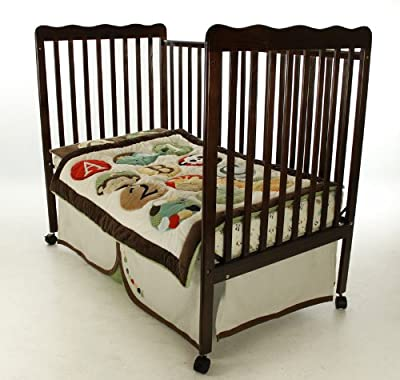 Dream On Me Classic 2 in 1 Convertible Stationary Side Crib by Dream On Me