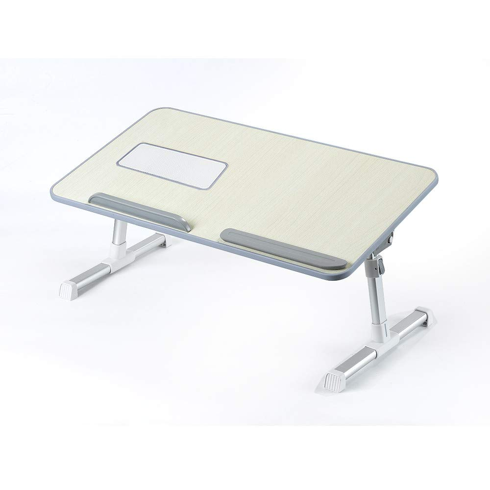 Sonmer Portable Laptop Table, Height Angle Adjustable, Design with Vented Slot
