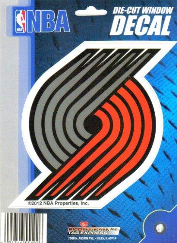 NBA Portland Trailblazers Die-Cut 6'' Window Decal by Rico Industries Inc.