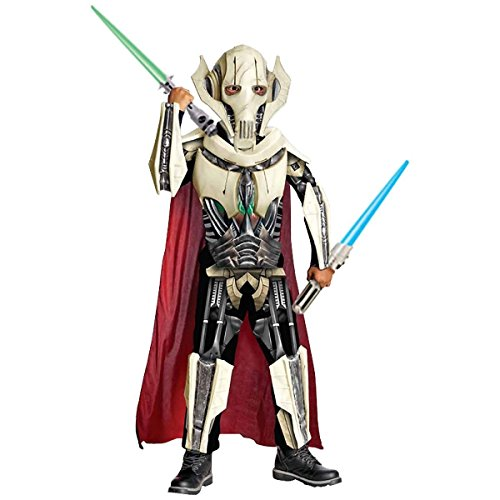Deluxe General Grievous Star Wars Child Costume - (General Grievous Kids Costumes)