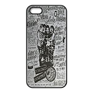 DDOUGS I 5 SOS Customized Cell Phone Case for Iphone 5,5S, Personalised I 5 SOS Case