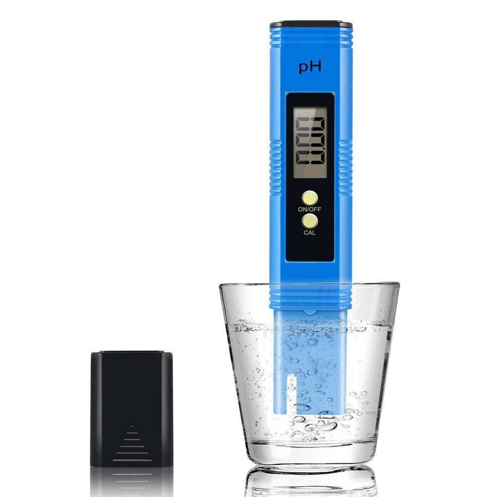 Hydropon Yestter Messger/ät Digitales Wasserqualit/ätsmessger/ät Professionelles TDS EC Meter tragbarer Tester//Messer f/ür Aquarium und Temperaturmessger/ät 0-9999 ppm Teststift f/ür Trinkwasser Aquarien