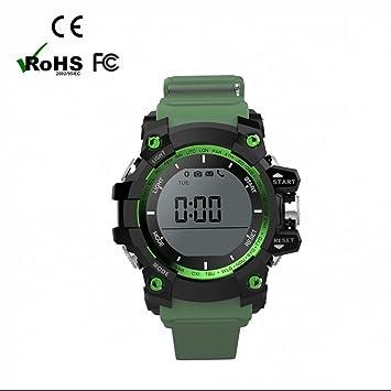 Reloj deportivo inteligente refinado,Pulsómetro Reloj inteligente, Fitness Pulsera con podómetro, manos libres