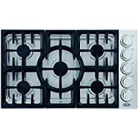 DCS CDV365N 36 Stainless Steel Gas Sealed Burner Cooktop