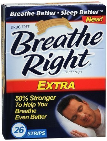 (130) Breathe Right Nasal Strips, Extra, by Breathe Right by Breathe Right