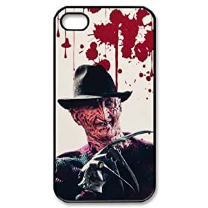 Pink Ladoo? iphone 4 4s Case Phone Cover Hard Plastic Classic Horror Film Freddy Krueger
