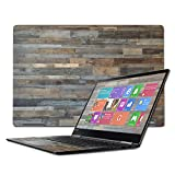 Mightyskins Skin Compatible with Lenovo Yoga 710 15.6' - Gray Wood | Protective, Durable, and Unique Vinyl Decal Wrap Cover | Easy to Apply, Remove, and Change Styles | Made in The USA
