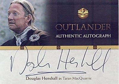 2016 Outlander Season 1 Trading Cards Autograph Card DH Douglas Henshall as Taran MacQuarrie