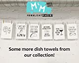Funny Dish Towel, Fold In The Cheese Flour Sack