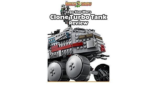 Amazon.com: Review: Lego Star Wars Clone Turbo Tank Review: Stephen Forthofer