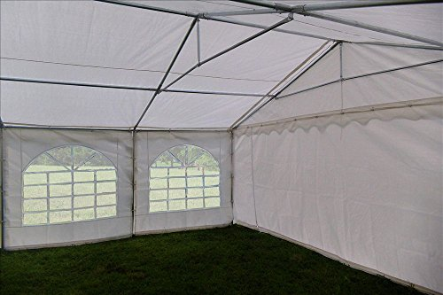 Heavy Duty Carport Canopy : ′ pe tent white heavy duty party wedding canopy