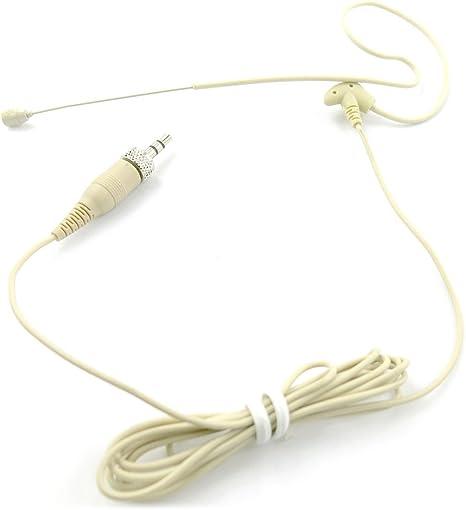 Pyle PMEMSN12 Ear-Hanging Omni-Directional Microphone Sennheiser Systems 3 Qty
