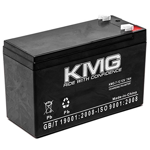Ups Omnismart System (KMG 12V 7Ah Replacement Battery for Tripplite OM1995 OMNIPRO 850 1400HG 450 OMNISMART)