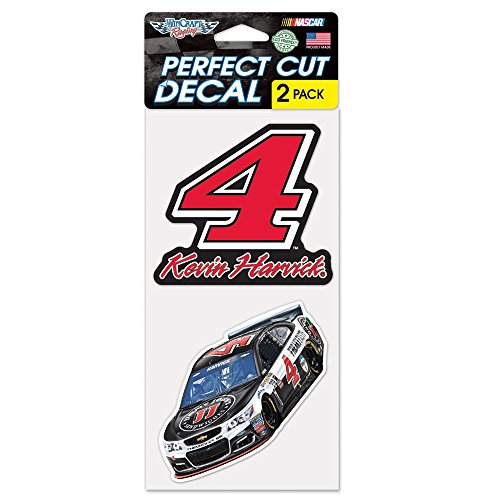 Nascar Kevin Harvick Jimmy Johns Car Perfect Cut Decal  4 X 8 Inch  Multi