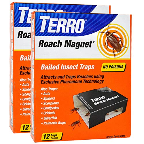 Roach Magnet - Terro T256 Roach Magnet Trap (2 Pack)