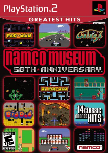 Namco Museum: 50th Anniversary - Ms Pac Man Ps2