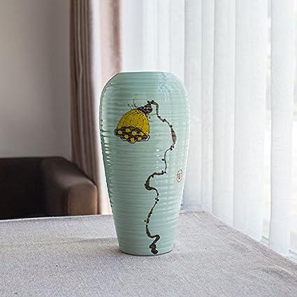 XOYOYO Jingdezhen Vaso di Ceramica soprammobili Soggiorno Country ...