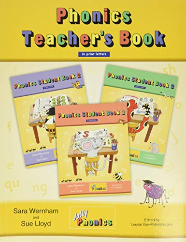 Jolly Phonics Teacher's Book in Print Letters Paperback – January 1, 2010