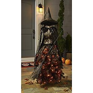 Black Christmas Tree Pre Lit
