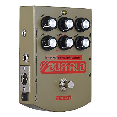 Simulator Effect Pedal - Kalaok MO-BA BUFFALO Electric Guitar Speaker Simulator Effect Pedal Equalizer With DI Headphone Output True Bypass