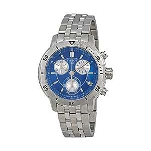 Tissot PRS 200 Chrono Marine Blue Dial Men's watch #T067.417.11.041.00