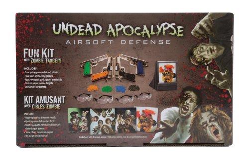 undead apocalypse zombie fun kit(Airsoft Gun) (Best Pistol For Zombie Apocalypse)