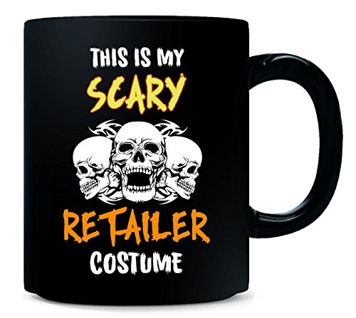 This Is My Scary Retailer Costume Halloween Gift - -