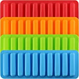 Mujiang Silicone Ice Cube Making Trays, Perfect Ice Cube Sticks Molds for Small
