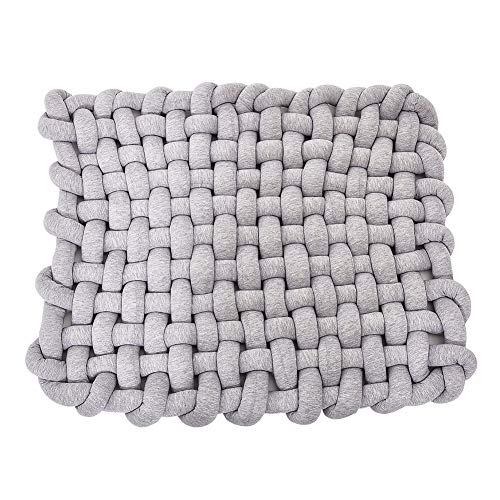 Wonder Space Knotted Braided Plush Mat, Baby Infant