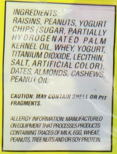 Island Snacks Yougurt Mix, 7-Ounce (Pack of 6)