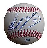 New York Yankees Wil Nieves Autographed Hand Signed Baseball with Proof Photo Will Signing, Washington Nationals, San Diego Padres, Arizona Diamondbacks, Philadelphia Phillies, Milwaukee Brewers, COA