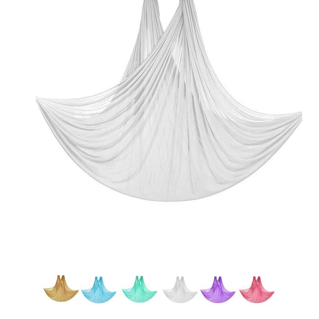 Morza 5 m de Long 2,8M Largeur a/érienne Volant Anti-Gravity Yoga Gym Hamac Pilates Musculation Fitness Swing Ceinture