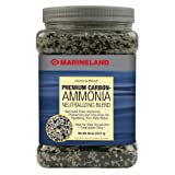 Image of Marineland PA0392 Diamond Blend Activated Carbon/Ammonia Neutralizing Crystals, 50-Ounce, 1417-Gram