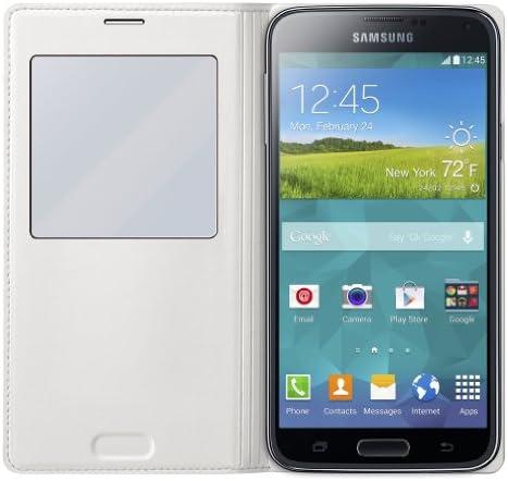 Amazon.com: Samsung S-View carga inalámbrica – Funda con ...